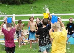 water Bucket race