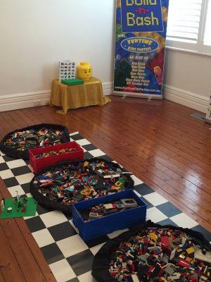 Lego set up